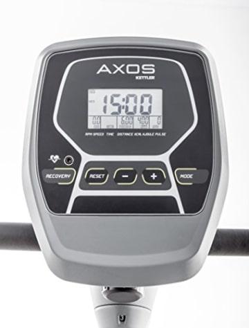 Kettler Rudergerät AXOS Rower – der ideale Rudertrainer mit LCD-Display – vielseitige Rudermaschine mit 8 Stufen – praktischer Hometrainer – silber/anthrazit - 2
