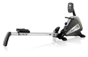 Kettler Rudergerät AXOS Rower – der ideale Rudertrainer mit LCD-Display – vielseitige Rudermaschine mit 8 Stufen – praktischer Hometrainer – silber/anthrazit - 1