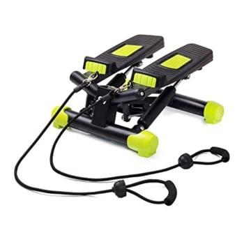 FitKraft Twister FTKTSTEPSWIII Swing Stepper Drehstepper Sidestepper mit Computer und Expande Schwarz - 1