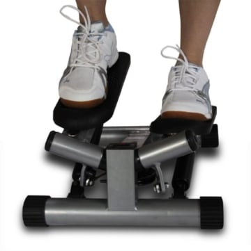 Ultrasport Swing Stepper inklusive Trainingsbändern/Hometrainer Stepper mit verstellbarem Widerstand und kabellosem Trainingscomputer – Up-Down-Stepper für Einsteiger und Trainierte, klein & kompakt - 8