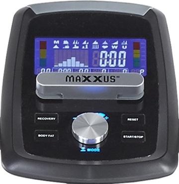 MAXXUS CROSSTRAINER CX 5.1 - Ellipsentrainer und kostenlosem Versand. Elliptischer Bewegungsablauf, Trainingsprogramme, HRC-Programme, Watt-Programm, Transportrollen, elektr. gesteuerte Magnetbremse, Smartphone-Tablet-Halterung, ergonomische Laufbewegung. - 4