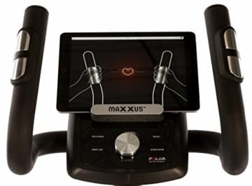 MAXXUS CROSSTRAINER CX 5.1 - Ellipsentrainer und kostenlosem Versand. Elliptischer Bewegungsablauf, Trainingsprogramme, HRC-Programme, Watt-Programm, Transportrollen, elektr. gesteuerte Magnetbremse, Smartphone-Tablet-Halterung, ergonomische Laufbewegung. - 7