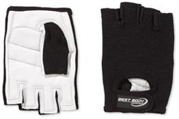 Best Body Nutrition Power Handschuh, Mehrfarbig (schwarz), M - 1