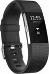 Fitbit Standard Charge 2 Unisex Armband Zur Herzfrequenz Und Fitnessaufzeichnung, Schwarz, L, FB407SBKL-EU - 1