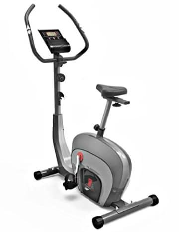 Sportstech ES400 Ergometer Heimtrainer - Smartphone App Steuerung - 10kg Schwungmasse - Bluetooth - Pulsmesser - Hometrainer mit Magnetbremssystem - Fahrrad-Trainer - Fitness-Bike - Tablethalterung - 1