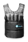 BodyRip Gewichtsweste Deluxe 2.0, gepolstert, 5kg, 10kg, 15kg, 25kg, 30kg, One Adjustable Size - 1