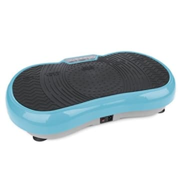 VITALmaxx 07125 Vibration Plate, Profi Vibrationsplatte inkl. Trainingsbänder, 99 Stufen Power Vibro Technologie, Profi Vibrationsgerät mit rutschsicherer Trainingsfläche, LCD Display & Fernbedienung - 1