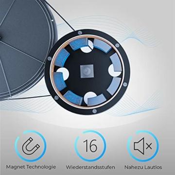 Crosstrainer MAXXUS CX 5.1 - Heimtrainer In Studioqualität, Bluetooth Steuerung Per Smartphone - 26 KG Schwungmasse Für Natürliche, Gelenkschonende Laufbewegung - Ellipsentrainer Mit 54cm Schrittlänge - 10