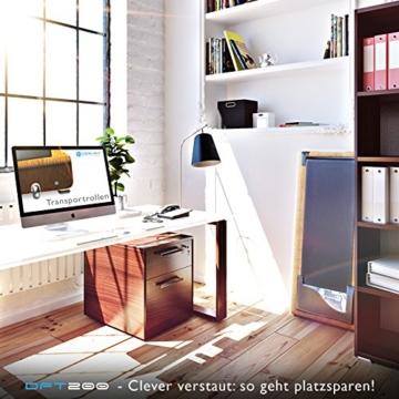 DESKFIT DFT200 Laufband für/unter Schreibtisch - fit und gesund im Büro & zu Hause. Bewegen und ergonomisches Arbeiten, Keine Rückenschmerzen - mit praktischer Tablet-Halterung, Fernbedienung und App - 9
