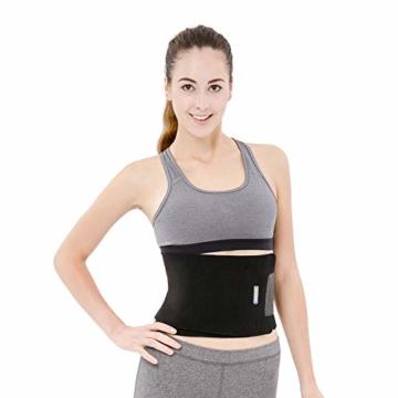 Bracoo Taillen & Bauch Trimmer - Damen & Herren - Hot Belt - Waist Trimmer | Schnell & Einfach Abnehmen mit dem Neopren-Bauchgürtel | SE20 - 2