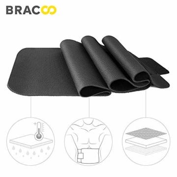 Bracoo Taillen & Bauch Trimmer - Damen & Herren - Hot Belt - Waist Trimmer | Schnell & Einfach Abnehmen mit dem Neopren-Bauchgürtel | SE20 - 3
