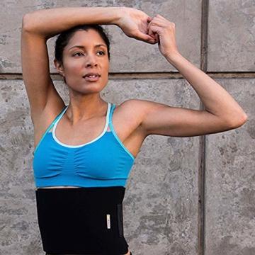 Bracoo Taillen & Bauch Trimmer - Damen & Herren - Hot Belt - Waist Trimmer | Schnell & Einfach Abnehmen mit dem Neopren-Bauchgürtel | SE20 - 5