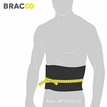 Bracoo Taillen & Bauch Trimmer - Damen & Herren - Hot Belt - Waist Trimmer | Schnell & Einfach Abnehmen mit dem Neopren-Bauchgürtel | SE20 - 6