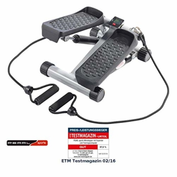 PEARL Sports Stepper: Ministepper mit Expander und Trainingscomputer (Mini Stepper) - 1