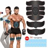 iThrough EMS Trainingsgerät, EMS Muskelstimulator,Professional Bauch Muskel Trainer Elektrisch für Herren Damen,Abnehmen und Muskeln aufbauen,Tragbarer Muskel Trainer - 1
