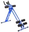 SportPlus AB Plank Bauchtrainer mit Trainingscomputer, blau, 4-facher Schwierigkeitsgrad, zusammenklappbar, SP-ALB-011 - 1